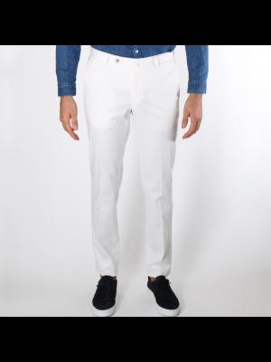 GTA Pantaloni 800 Slim Fustagno Bianco