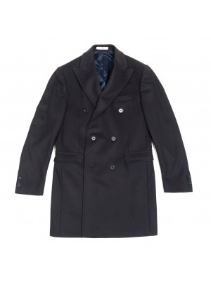 CC Collection Corneliani Cappotto Doppiopetto Slim