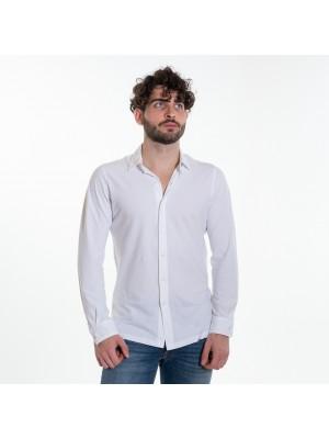 Altea Polo Camicia Connors Crepe Bianco