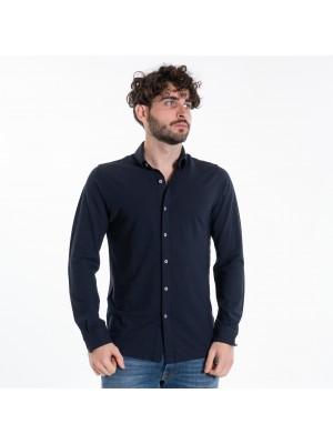 Altea Polo Camicia Connors Crepe Blu