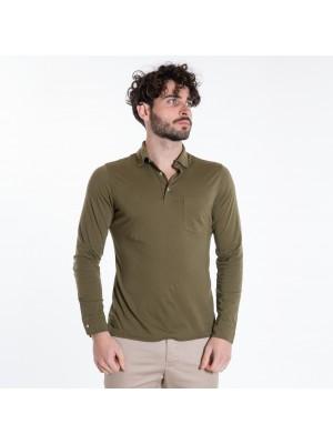 ASPESI Polo Manica Lunga  AY68 Verde