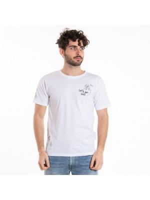 Officina 36 T-Shirt Stampa Luna  AM 12