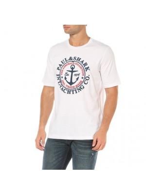 Paul&Shark T-Shirt Uomo Admirals Ricamata Paul & Shark