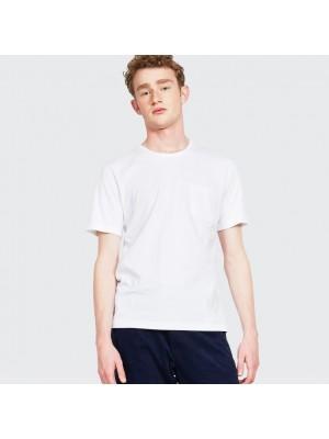 ASPESI T Shirt Taschino Mod 3107 Bianco Ott