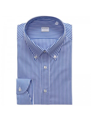 Xacus Permanent Camicia Bacchettata Button Down Tailor