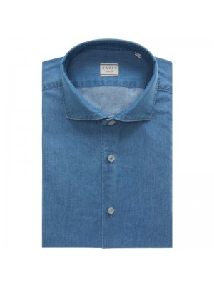 Xacus Permanent Camicia Denim Francesce