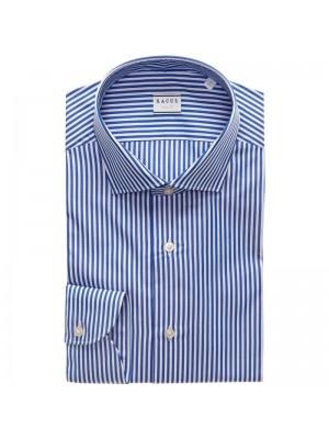 Xacus Permanent Camicia  Bacchettata Collo Classico Tailor