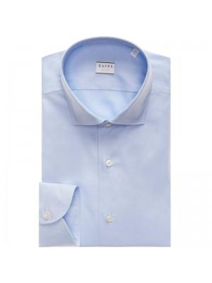 Xacus Permanent Camicia Celeste Collo Classico Tailor