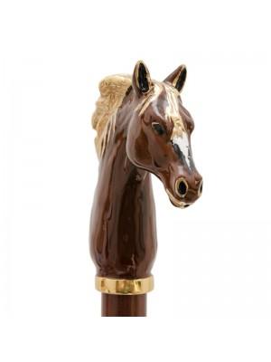 Pasotti Calzante Oro Smaltato Cavallo