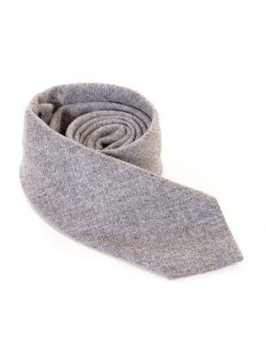 Altea Cravatta Cashmere Unito Grigio7,5 cm