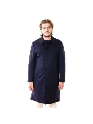 CC Collection Corneliani Impermeabile O.Coat Imbottito