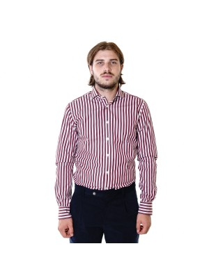 Xacus Camicia Tailor Fit Riga Larga Thomas Mason
