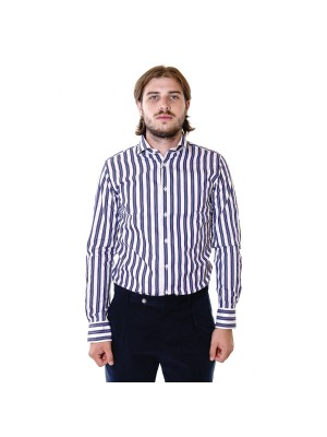 Xacus Camicia Tailor Fit Riga Larga Albini