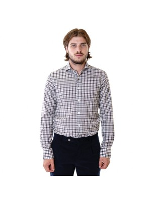 Xacus Camicia Tailor Fit Reda Active Quadro