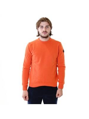 Paul&Shark Girocollo Shetland Arancione