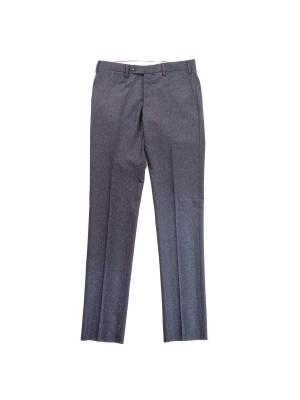 Germano Pantaloni Flanella Cardata Grigio Scuro