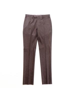 Germano Pantaloni Flanella Cardata Marrone