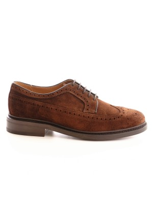 Berwick Scarpa Allacciata Longwing Polo Brown