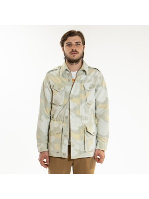 ASPESI Giacca Field Jacket Vancouver Camouflage