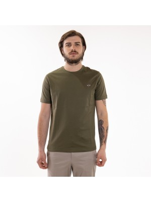 Paul&Shark T-Shirt Basic Verde Paul & Shark