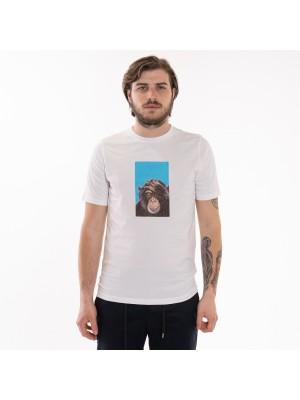 Altea T-Shirt Lews Stampa Scimmia