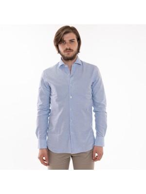 Xacus Camicia Celeste Batista Tailor Fit