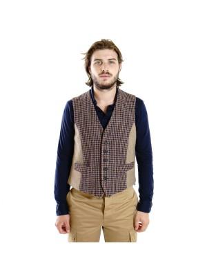 Fortela Gilet Vintage Tweed