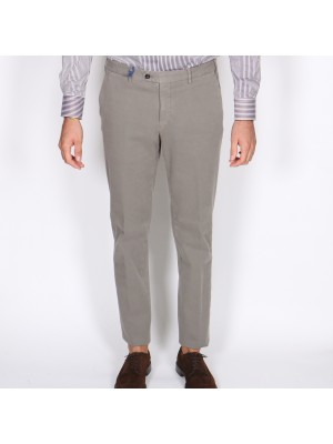 Germano Pantaloni Tricochino Grigio Chiaro