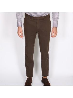 Germano Pantaloni Tricochino Marrone