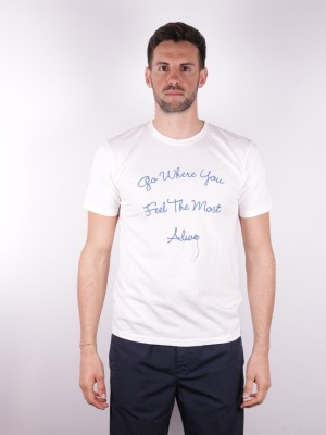 """Officina 36 T- Shirt """"Go Were You Feel The Most Alive"""""""