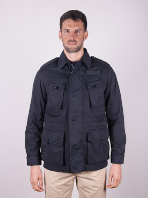 ASPESI Giacca Field Jacket Vancouver Blu