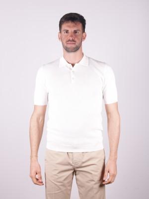 Altea Polo Cotone Ondina Bianco