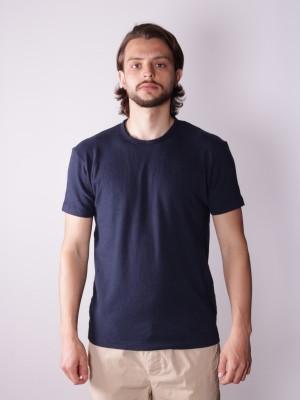 Grifoni T-Shirt Lino Cotone Taglio Vivo