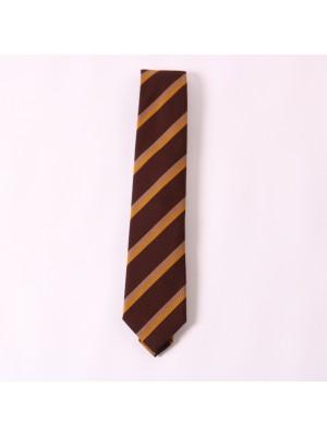 Altea Cravatta Regimental Marrone Beige