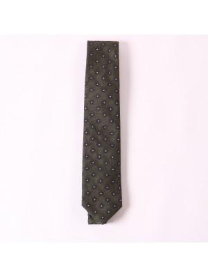 Altea Cravatta Verde Stampa