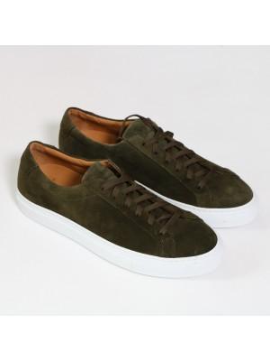 Manifatture Etrusche Sneakers Fondo Cassetta Verde Military