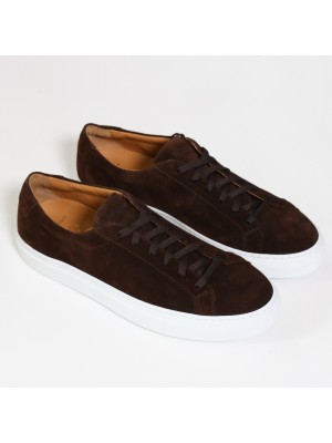 Manifatture Etrusche Sneakers Fondo Cassetta Marrone