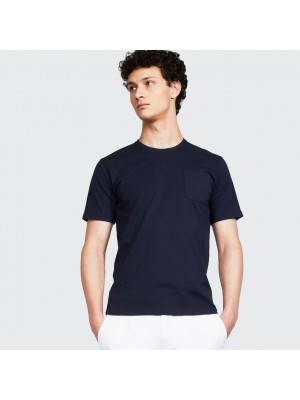 ASPESI T Shirt Taschino Mod 3107 Navy